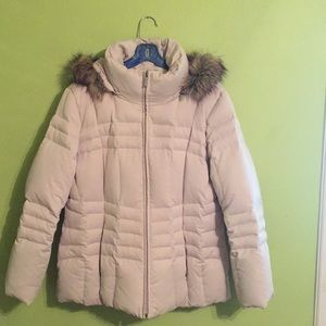 Puffy duck and feather down jacket